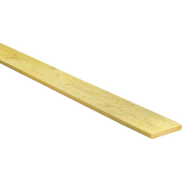 Planche Sapin épicéa Traité 27x150 Mm Longueur 4 M Choix 2