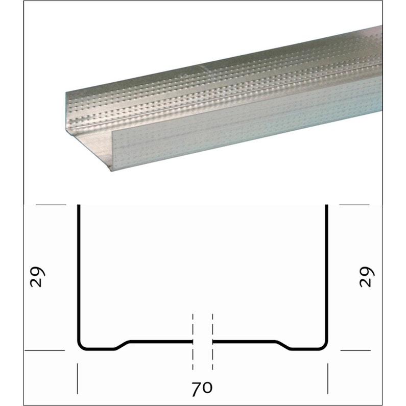 Rail De 70 Mm Long 3m