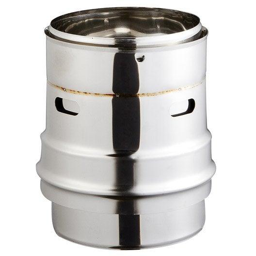 raccord poele tubage pour tubage isotip joncoux d 180 18 cm leroy merlin. Black Bedroom Furniture Sets. Home Design Ideas