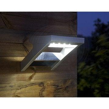 Applique solaire Malibu 300 Lm aluminium INSPIRE