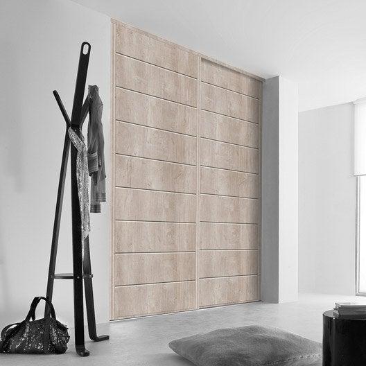 porte de placard sur mesure | leroy merlin - Porte De Placard Coulissante Sur Mesure Ikea