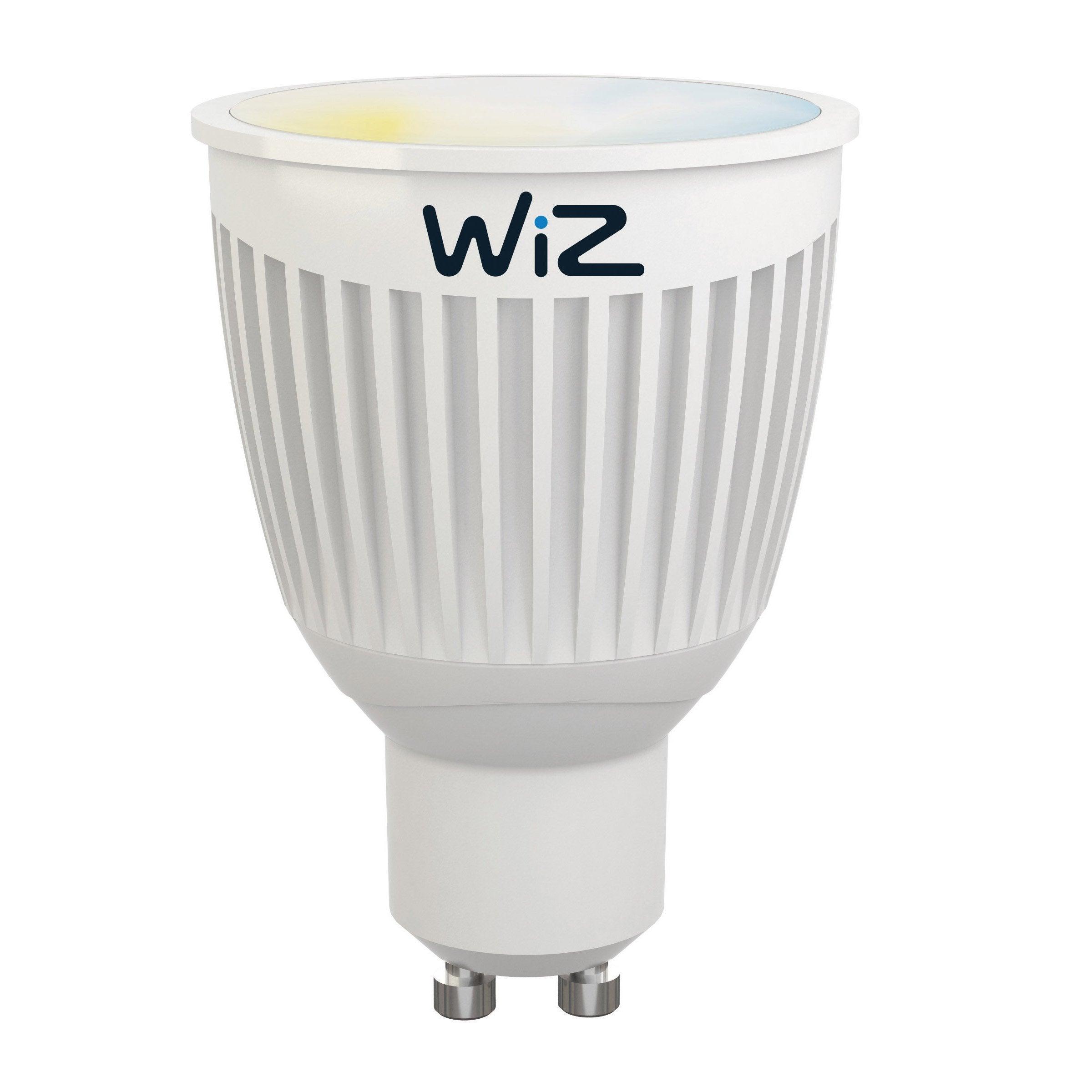 345 Lm35 Couleur W ChangeanteWiz Argenté Gu10 Led Réflecteur Ampoule bgyf67