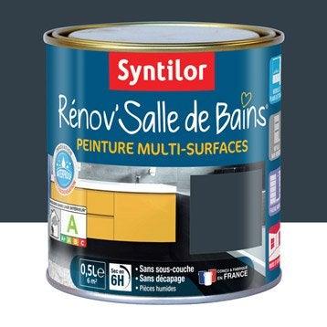 Peinture pour meuble cuisine et bain peinture cuisine et bain leroy merlin - Peinture salle de bain gris ...