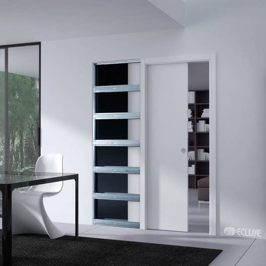 syst me galandage unique 100 eclisse pour porte de largeur 83 cm leroy merlin. Black Bedroom Furniture Sets. Home Design Ideas