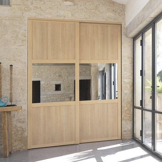porte de placard sur mesure leroy merlin. Black Bedroom Furniture Sets. Home Design Ideas