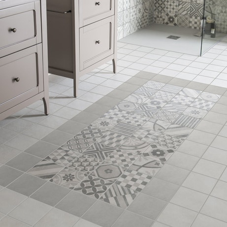 Les carreaux de ciment la tendance du moment leroy merlin for Tapis carreaux de ciment leroy merlin