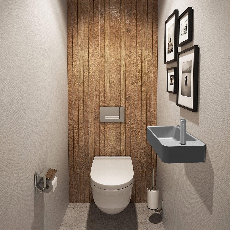 Tableau Pour Mettre Dans Les Toilettes les wc aussi ont droit à la déco | leroy merlin