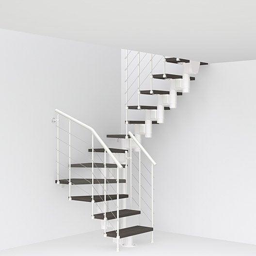 Escalier modulaire longline leroy merlin for Type d escalier interieur