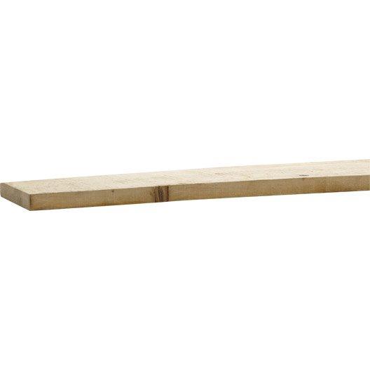 planche de coffrage en sapin 27x200 mm long 3 m leroy merlin. Black Bedroom Furniture Sets. Home Design Ideas