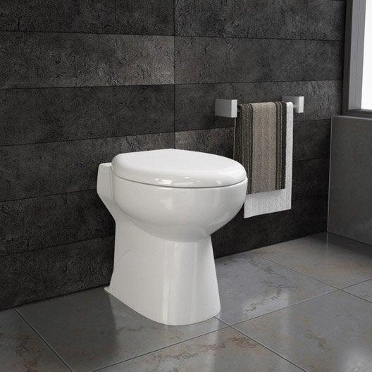 WC à poser avec broyeur intégré SENSEA Remix