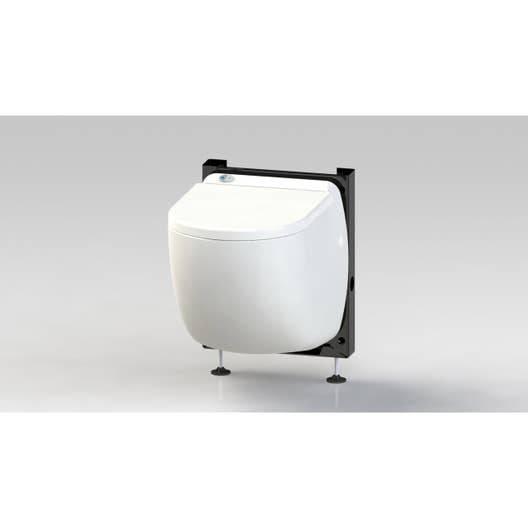 wc suspendu avec broyeur int gr turbo class leroy merlin. Black Bedroom Furniture Sets. Home Design Ideas
