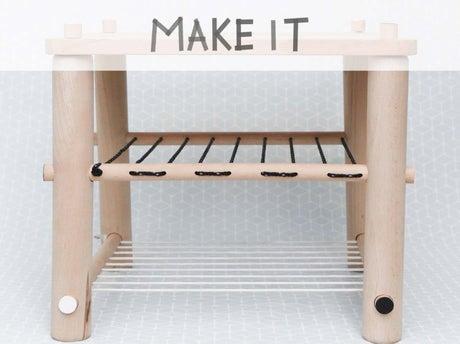 Diy fabriquer un tabouret en bois et cordages leroy merlin - Fabriquer un tabouret en bois ...
