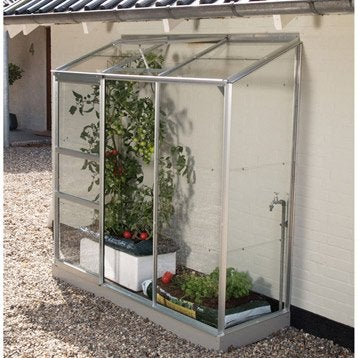 Serre de jardin mini serre verre horticole leroy merlin - Verre trempe sur mesure leroy merlin ...