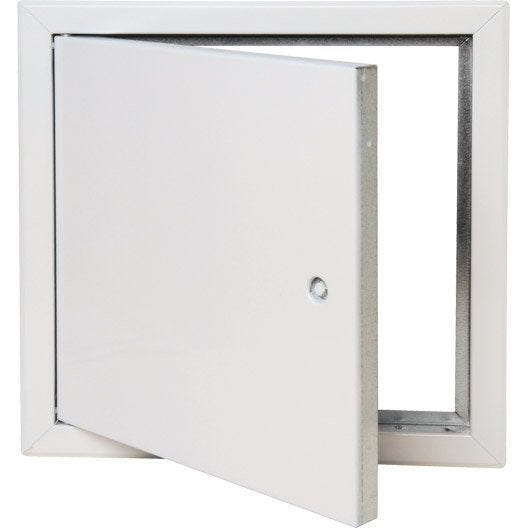 trappe de visitee haute qualit blanche laqu e 30x30 cm. Black Bedroom Furniture Sets. Home Design Ideas