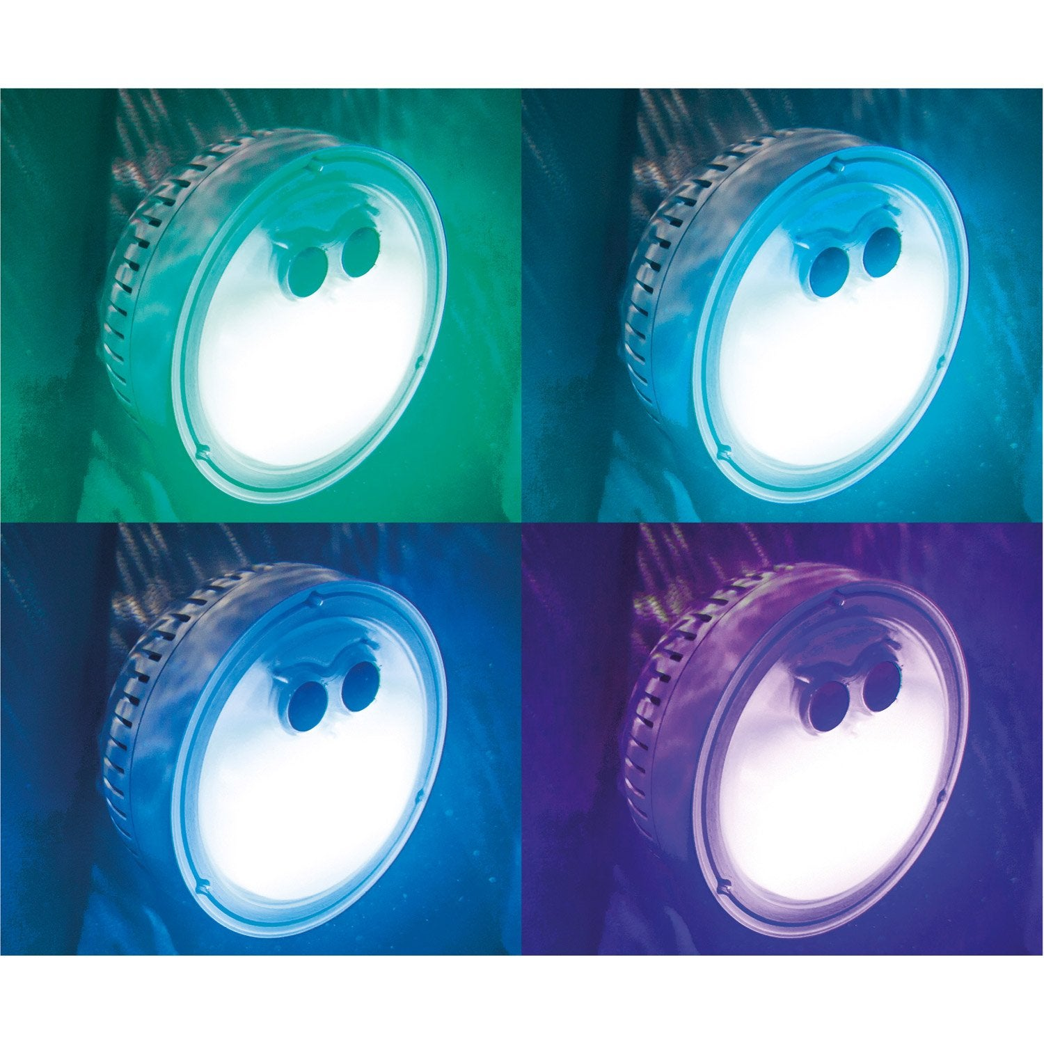 Rond4 Pure Spa Intex Assises Gonflable Bulles Led Places gIY7m6vybf