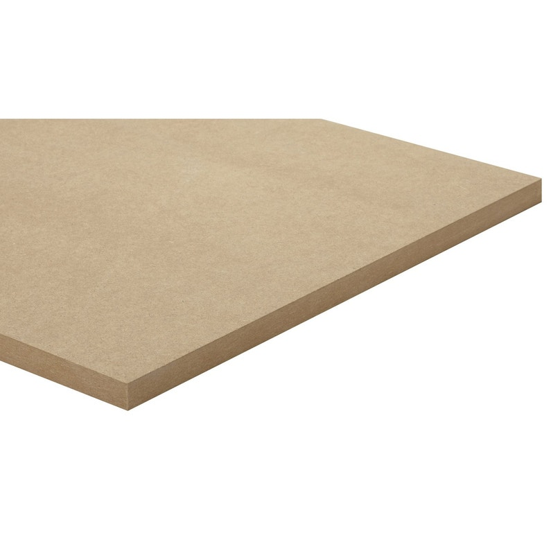 Panneau Medium Mdf Naturel Ep 22 Mm X L 250 X L 122 Cm Leroy