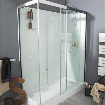 cabine de douche salle de bains au meilleur prix leroy merlin. Black Bedroom Furniture Sets. Home Design Ideas