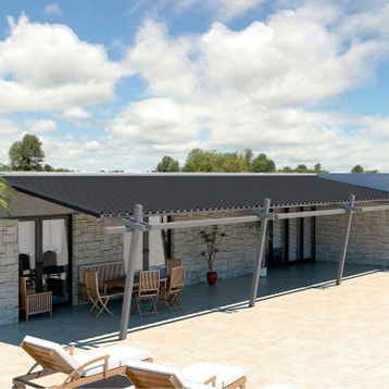 Plaque imitation tuile, toiture abri de jardin, bac acier, toiture ...