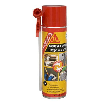 Mousse expansive Sikaboom xl multiposition SIKA, 500 ml