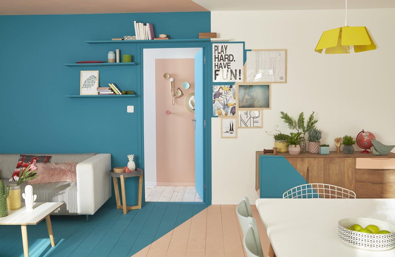 Donner du volume avec des zones de couleurs leroy merlin - Donner des meubles a une association ...