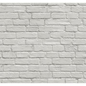 Papier Peint Briques Au Meilleur Prix Leroy Merlin