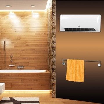 Soufflant céramique salle de bain fixe électrique ALPATEC Rcmb 21 2000 W