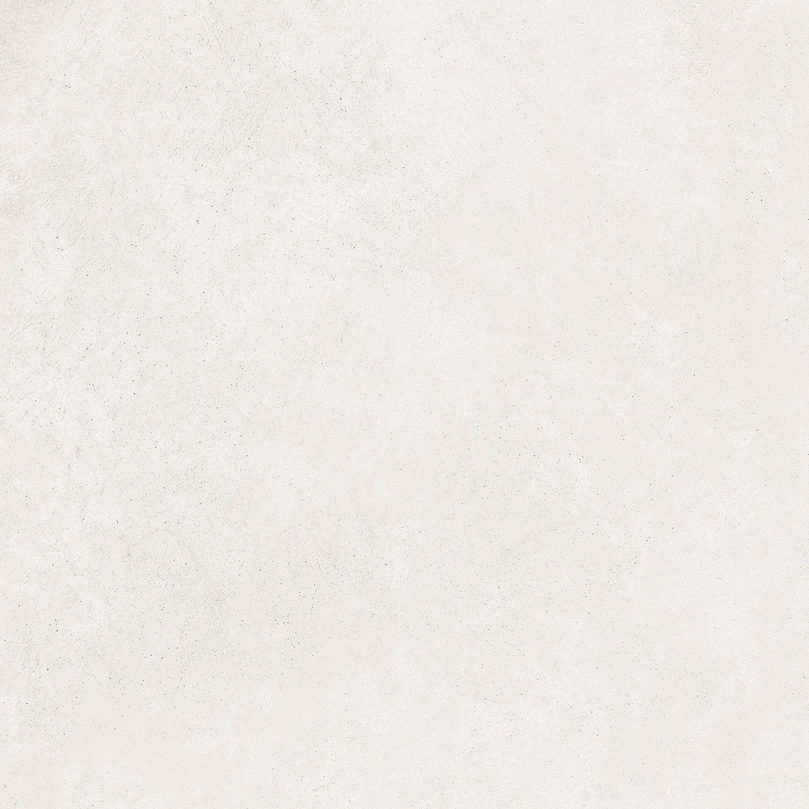 Carrelage sol et mur intenso effet béton blanc Ritual l.60 x L.60 cm SANT'AGOSTI
