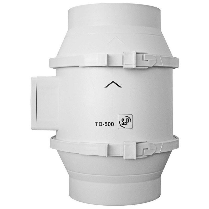 Aérateur Extracteur Intercalé à Interrupteur Sp Td 150 Mm