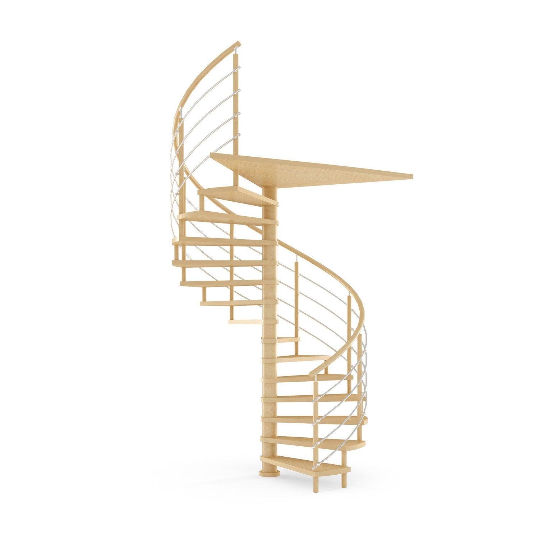 escalier colima on rond structure bois marche bois leroy merlin. Black Bedroom Furniture Sets. Home Design Ideas