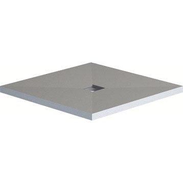 Receveur de douche à carreler carré L.90 x l.90 cm Eco