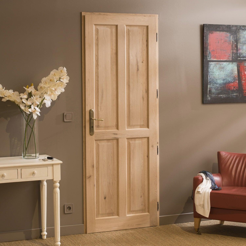 bloc porte ch ne camille artens x cm poussant. Black Bedroom Furniture Sets. Home Design Ideas