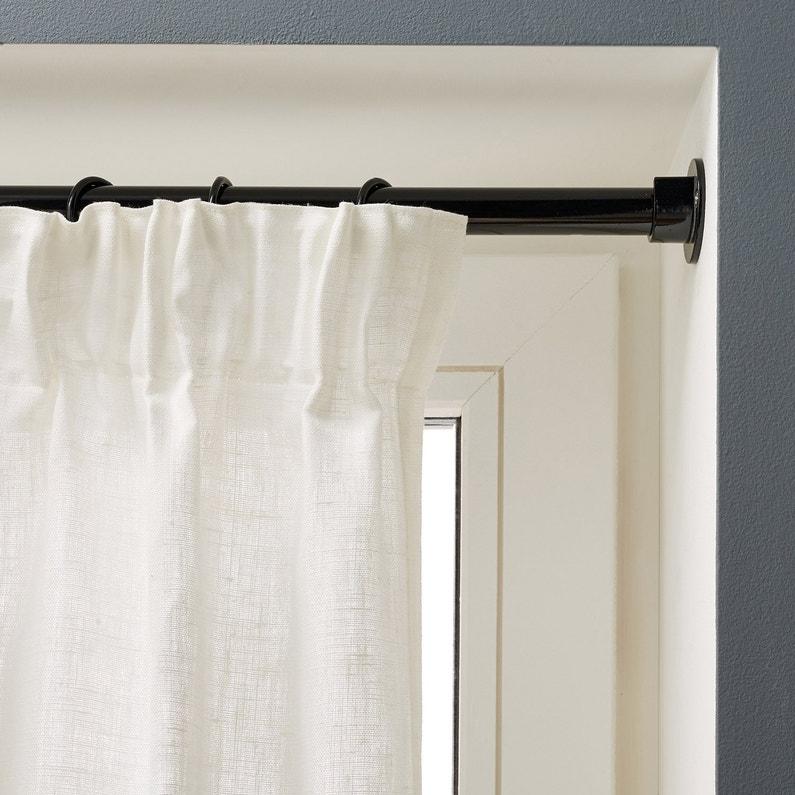 anneaux tringle rideau city 20 mm acier noir inspire. Black Bedroom Furniture Sets. Home Design Ideas