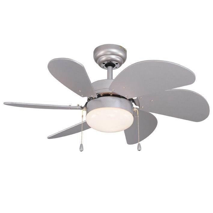 Ventilateur De Plafond Tnrife Inspire Gris Argent  Blanc  W
