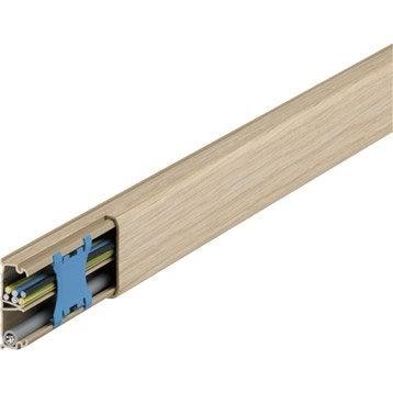 Moulure bois pour moulure, H.1.3 x P.3.2 cm