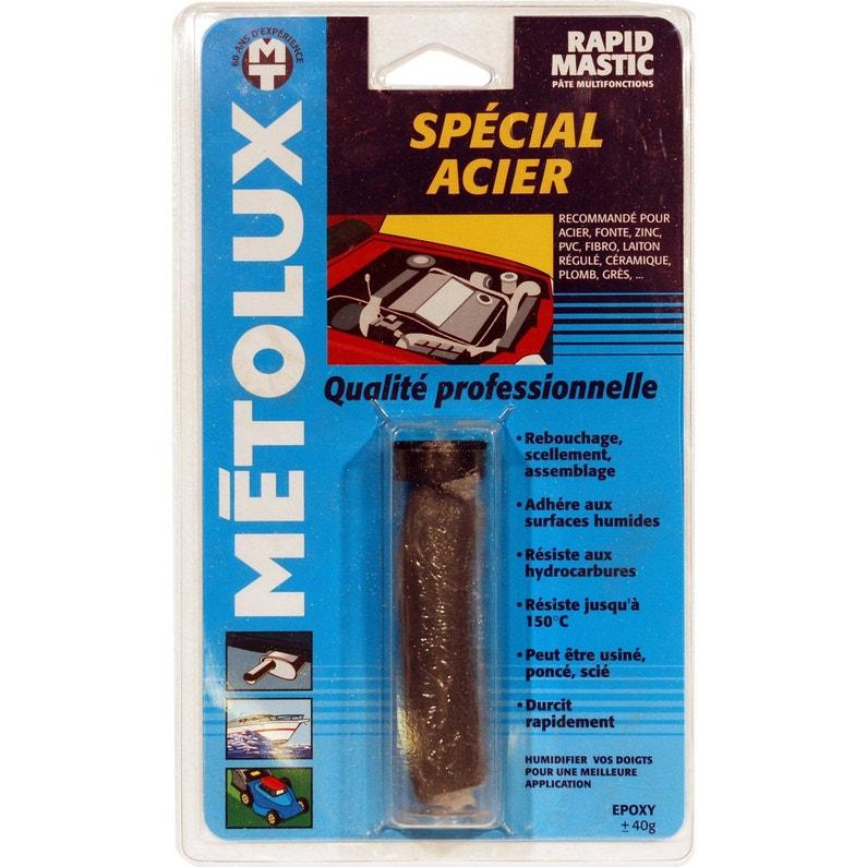 Soudure A Froid Special Acier Metolux Rapidmastic S Leroy Merlin