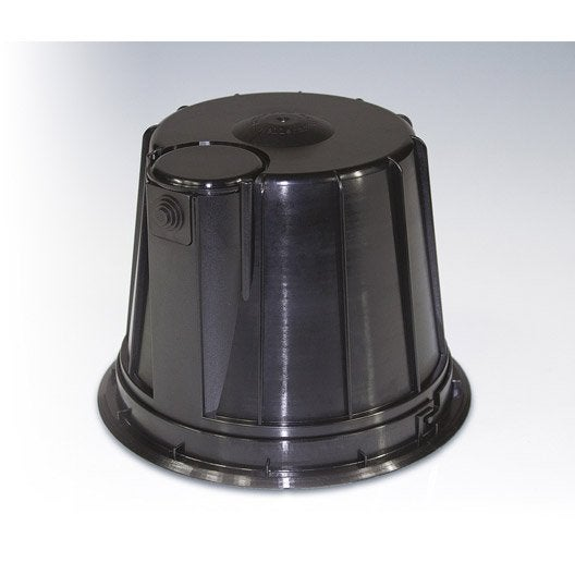 cloche de protection pour spot encastrer bbc spotclipbox fixe noir leroy merlin. Black Bedroom Furniture Sets. Home Design Ideas