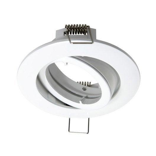 Anneau pour spot encastrer bama orientable sans ampoule for Spot orientable interieur