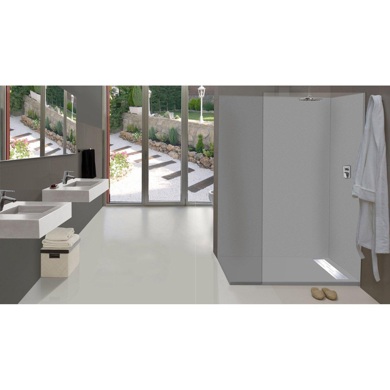 panneaux acryliques vistelle elegant panneau mural salle de bain et douche et salle de bain. Black Bedroom Furniture Sets. Home Design Ideas