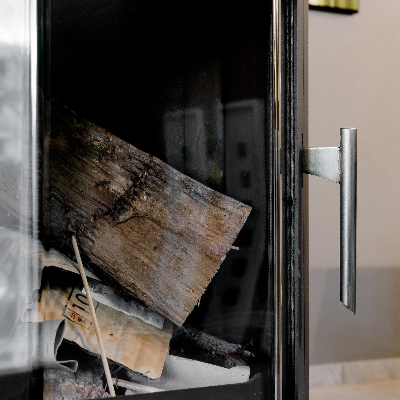 un po le bois pour un coin cosy dans le salon leroy merlin. Black Bedroom Furniture Sets. Home Design Ideas