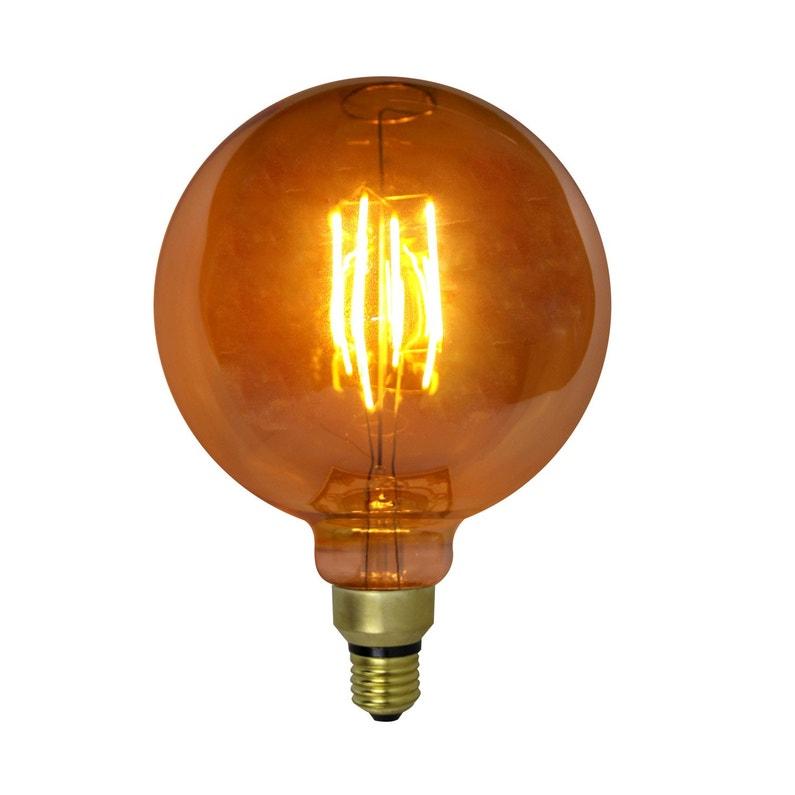 Ampoule Filament Led Xxl Globe 4w 200 Lm Diam 20 X H 29 Cm E27