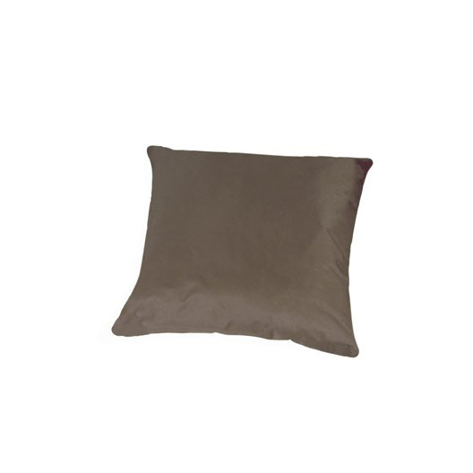 coussin imperm able inspire mona taupe 60 x 60 cm leroy merlin. Black Bedroom Furniture Sets. Home Design Ideas