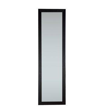 Miroir Mia INSPIRE, noir, l.30 x H.120 cm