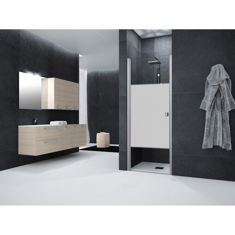 porte de douche pivotante 70 cm s rigraphi neo leroy merlin. Black Bedroom Furniture Sets. Home Design Ideas