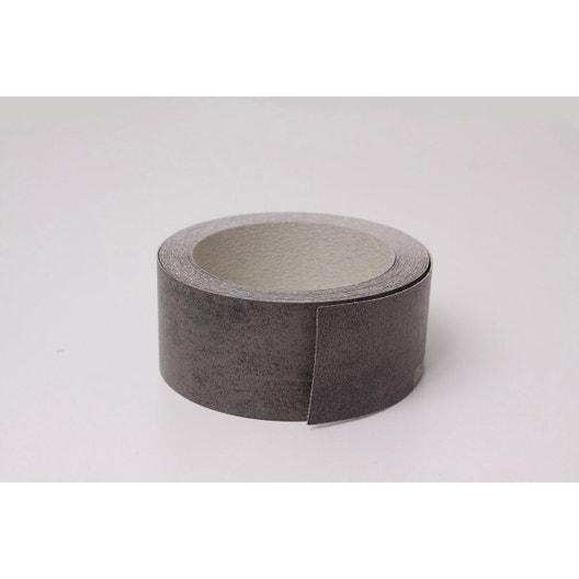 chant de plan de travail stratifi effet m tal cuivre mat ep 6 mm leroy merlin. Black Bedroom Furniture Sets. Home Design Ideas