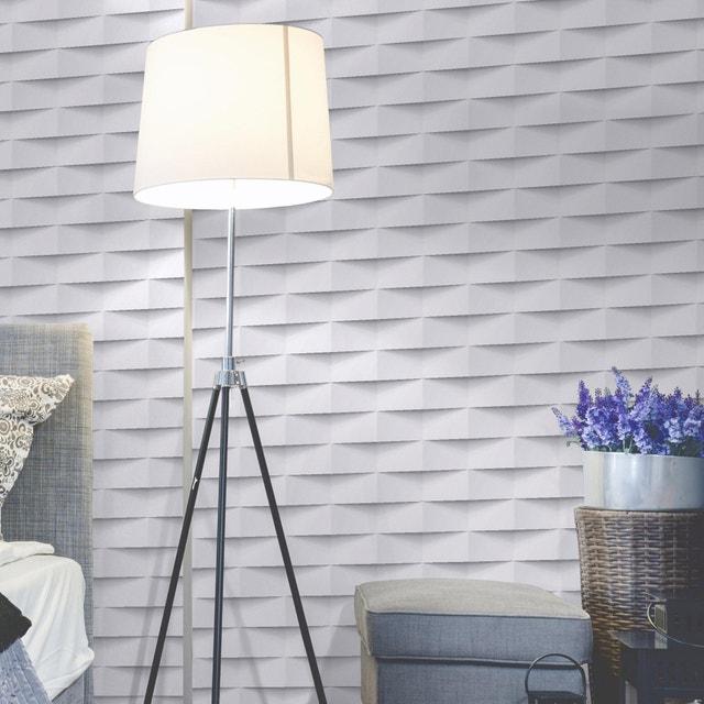 Habillez les murs de manière élégante avec un papier peint origami