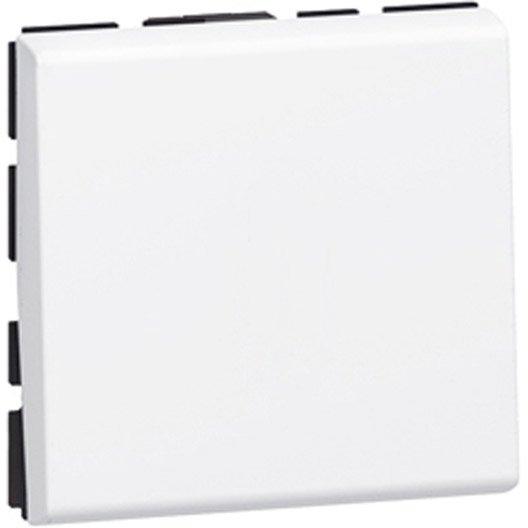 interrupteur va et vient mosaic legrand blanc leroy merlin. Black Bedroom Furniture Sets. Home Design Ideas