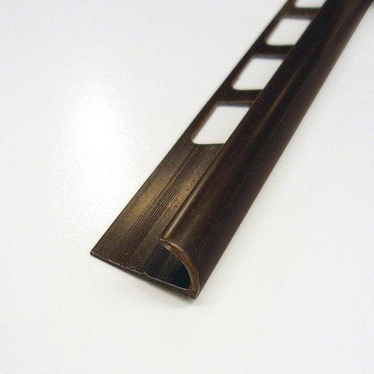 quart de rond carrelage mur pvc l 2 5 m x ep 9 mm leroy merlin. Black Bedroom Furniture Sets. Home Design Ideas