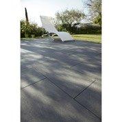 Carrelage sol ardoise effet béton Source l.30 x L.60 cm