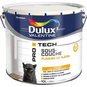 Sous-couche plaque de plâtre, Pro tech DULUX VALENTINE 10 l