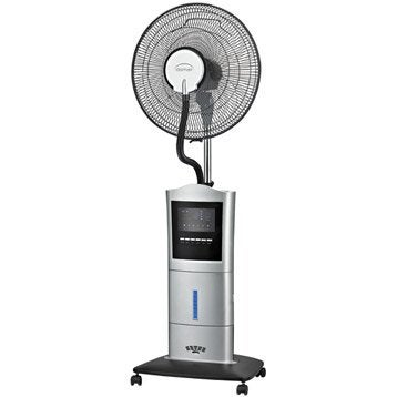 Ventilateur brumisateur sur pied, DOMAIR, Sw40, D 40 cm 100 W